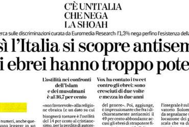 C'è un'Italia che nega la Shoah
